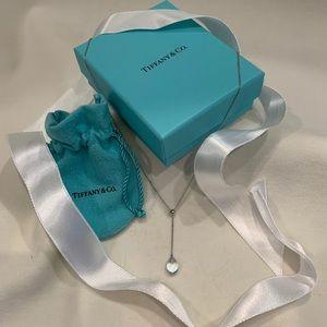 Tiffany & Co. 18k White Gold/Aquamarine Pendant